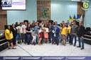 Alunos e membros de projetos sociais participam da última sessão ordinária do mês de Setembro.