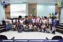 Câmara Municipal recebe alunos da Escola Estadual 19 de Dezembro.