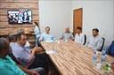 Poderes Municipais se reúnem em prol do dia do Evangélico em Querencia.