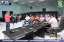 Presidente da Câmara vereador Professor Neiriberto apoia o fortalecimento da Piscicultura em Querência.