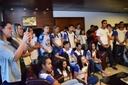 Primeira visita cidadã é realizada na capital Cuiabá.