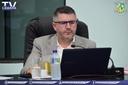 Vereador Marcos Amorin pede vista em projeto e retorna as discussões junto a comissão de fiscalização e orçamento.