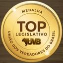 Vereador Professor Neiriberto é homenageado pela União dos vereadores do Brasil.