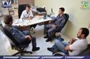 Vereador Vavá e PM discutem patrulhamento rural em Querência.