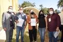 Vereadores de Querência protocolam ofícios em Brasília solicitando emendas parlamentares destinado a compra de um Tomógrafo e para construção de uma casa de apoio no município.