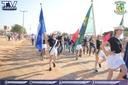 Vereadores participam  da caminhada cívica no Assentamento Pingo D'água.